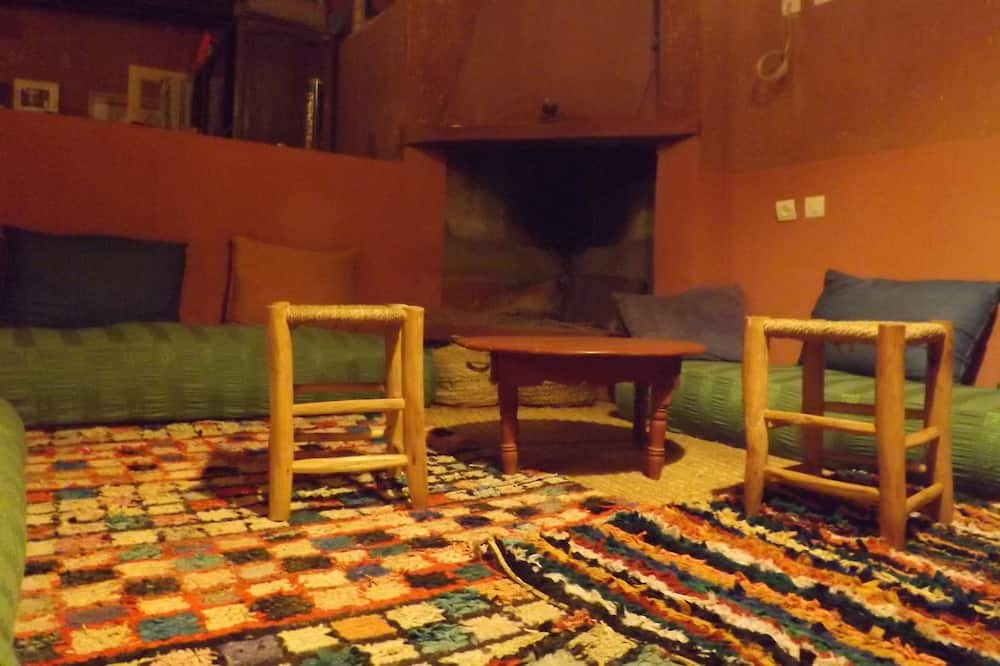 Sala de estar en el lobby