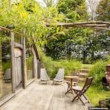 Cabin (Dans la Prairie) - Terrace/Patio