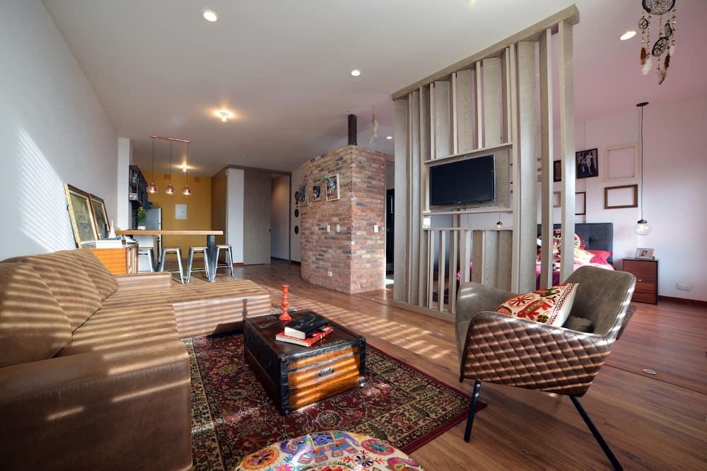 Design Διαμέρισμα, Μπαλκόνι, Θέα στην Πόλη - Περιοχή καθιστικού