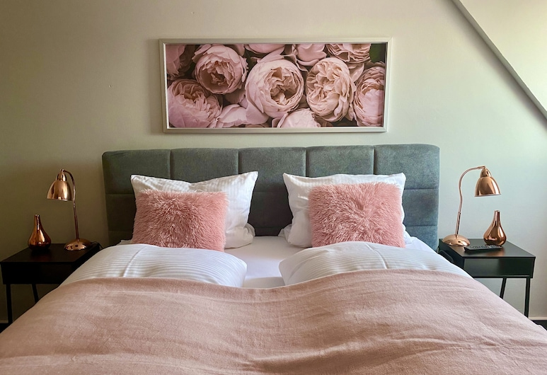 Ristorante Hotel Piatto D'oro, שרובנהאוזן, חדר דה-לוקס זוגי, חדר רחצה פרטי, חדר אורחים