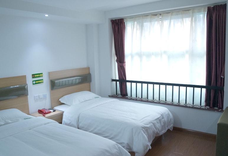 徽風酒店 (上海浦東機場店), 上海, 基本雙床房, 多張床, 客房