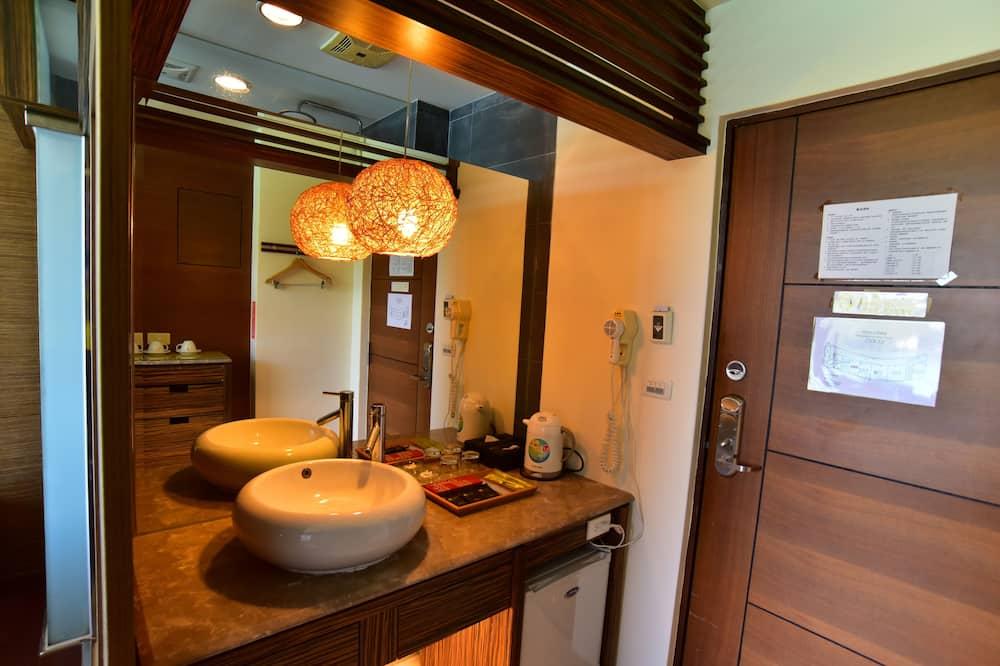 Dvojlôžková izba typu Comfort, 1 dvojlôžko, nefajčiarska izba - Kúpeľňa