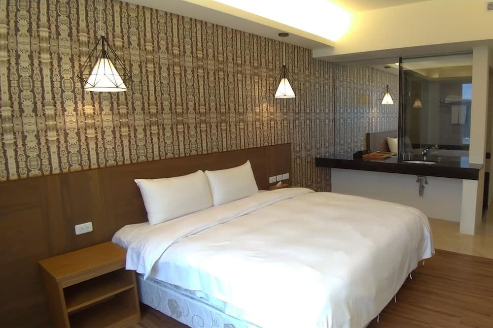 Dvojlôžková izba typu Elite, 1 dvojlôžko, nefajčiarska izba - Kúpeľňa