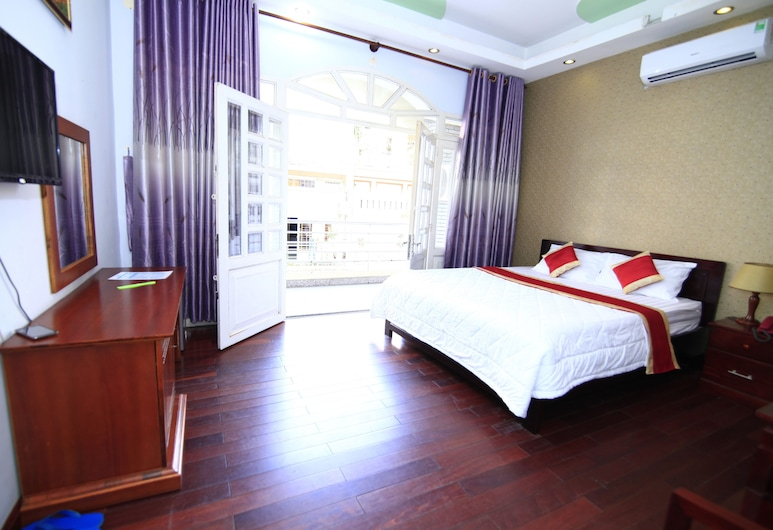 Truong Giang Hotel, Ho Chi Minh City, Deluxe Double Room, Balcony, Guest Room