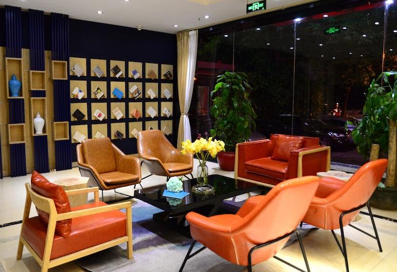 Lifu Hotel-He dong Xi lang Station Brand, Guangzhou, Zitruimte lobby