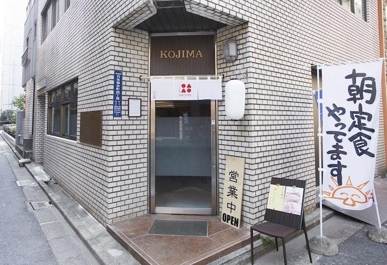 bnb+ Higashinihonbasi Backpacker House, Tokio, Vchod do hotela