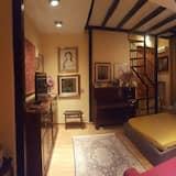 Apartemen, 2 kamar tidur, pemandangan kebun - Kamar Tamu