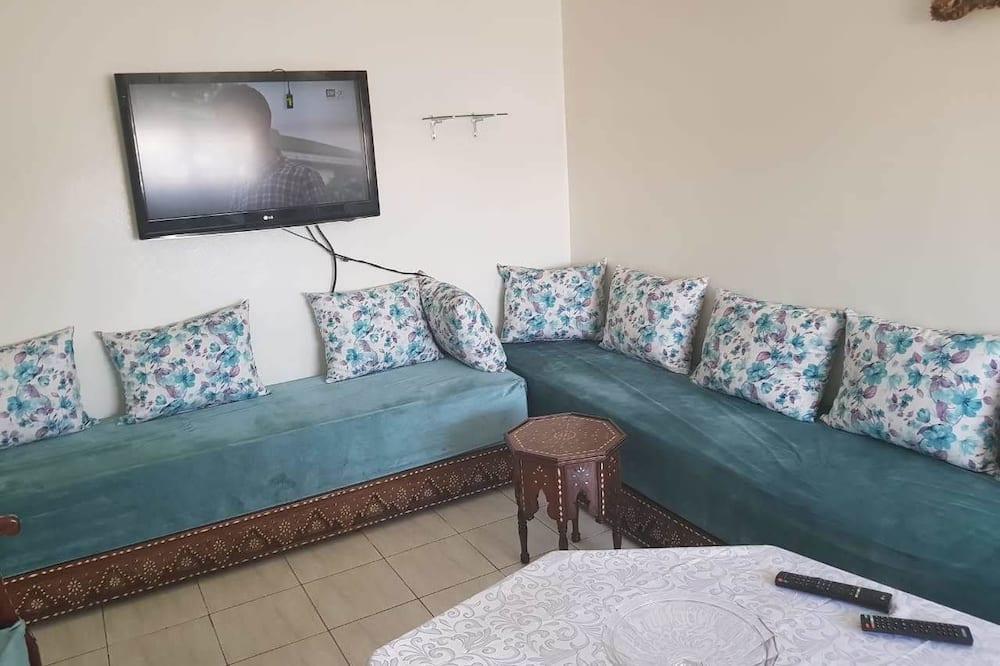 Departamento, 2 habitaciones, terraza - Sala de estar