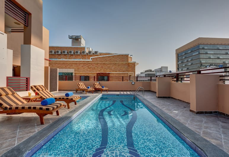 City Stay Hotel, Dubajus, Baseinas