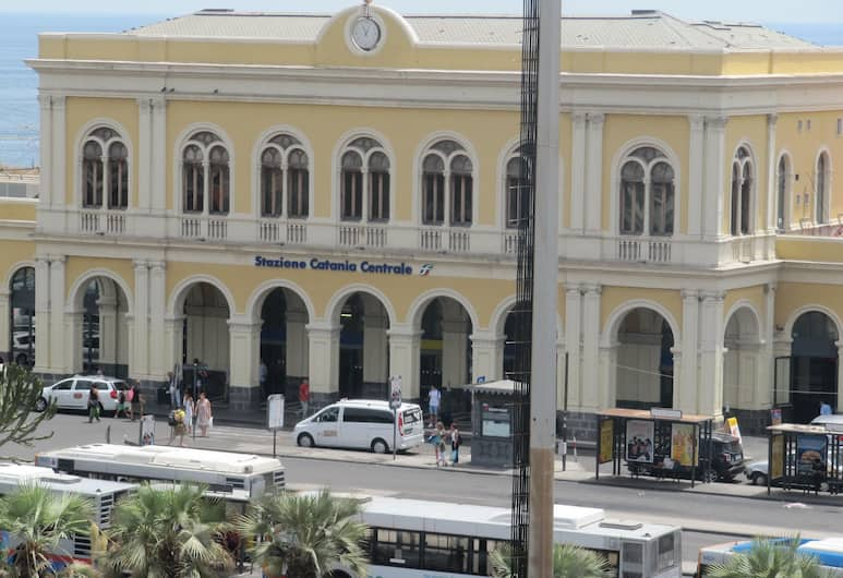 Symposium, Catania, Vista dall'hotel