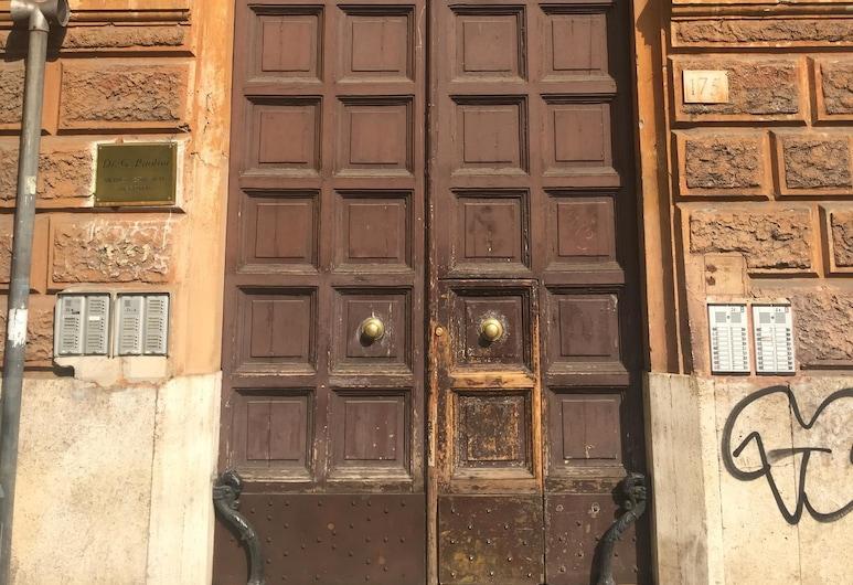 公園陽台飯店, 羅馬, 飯店入口