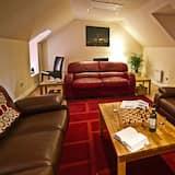 King Double En-suite Room with Seaview - Olohuone