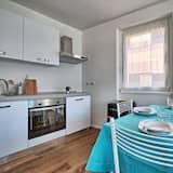 apartman, erkély - Étkezés a szobában