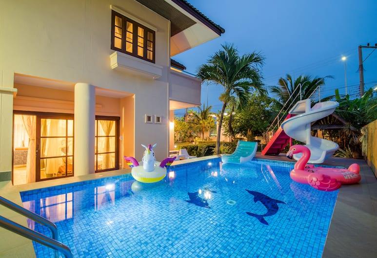 皇后公園海灘泳池別墅酒店, Hua Hin, 室外宴會場地