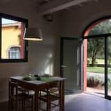 Appartement, 1 chambre, cuisine, vue jardin - Restauration dans la chambre