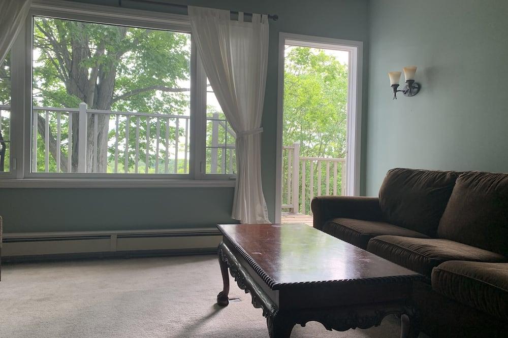 Suite – superior (Muskoka River View, Has Balcony) - Stue