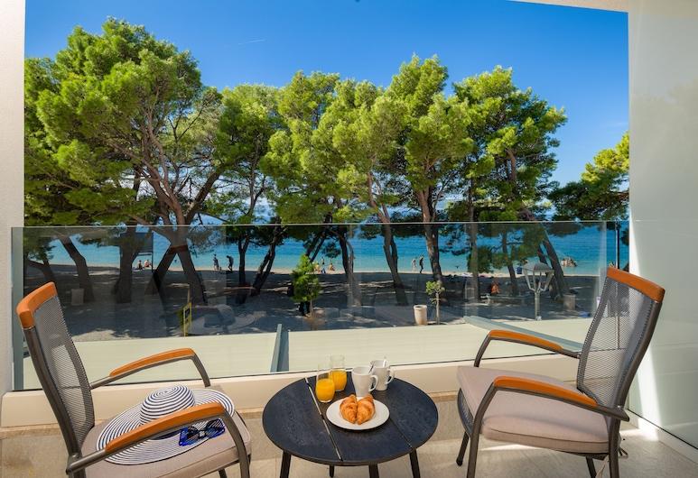 Central Beach 9, Makarska, Double or Twin Room, Balcony,Sea View, Hosťovská izba