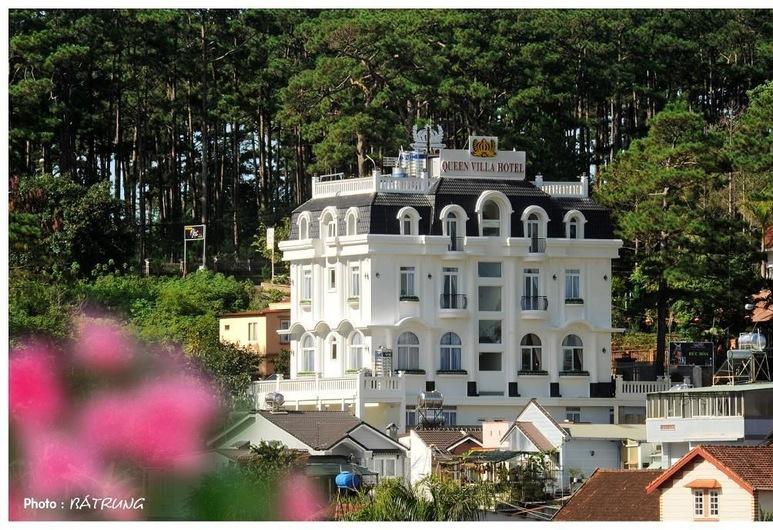 Queen Villa Hotel, Ðà Lat, Hotelfassade