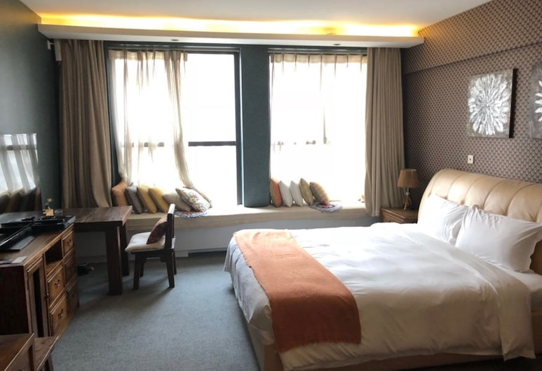 Poseidon Manor Service Apartment, Beijing, Superior Double Room, Room