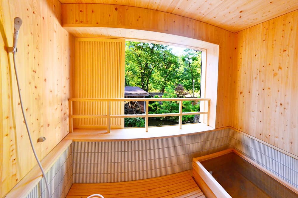 Traditional-Suite (Japanese Style, Private Open-Air Bath) - Badezimmer