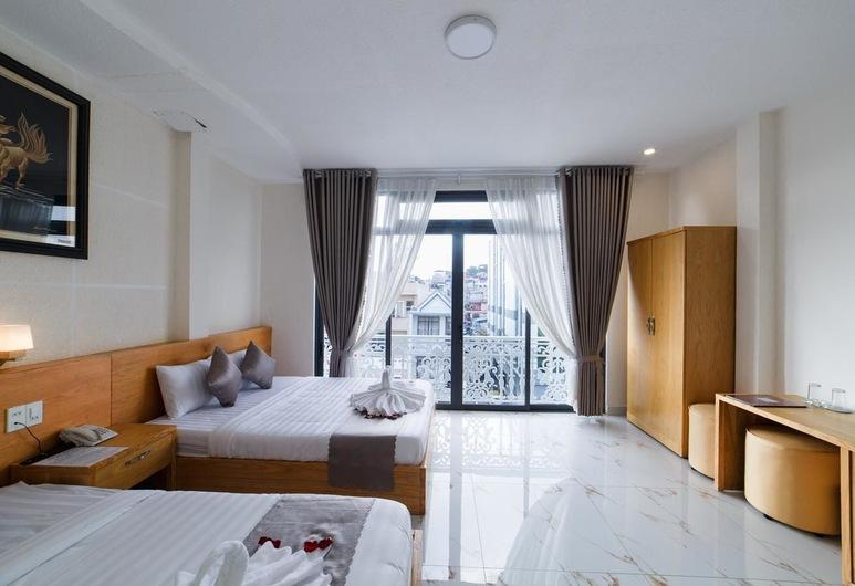 Khách sạn Tea Leaf, Đà Lạt, Deluxe Family Room, Balcony, Phòng