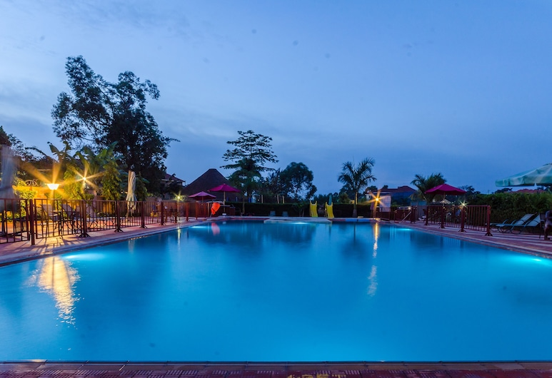 Las Vegas Garden Hotel, Kampala, Útilaug