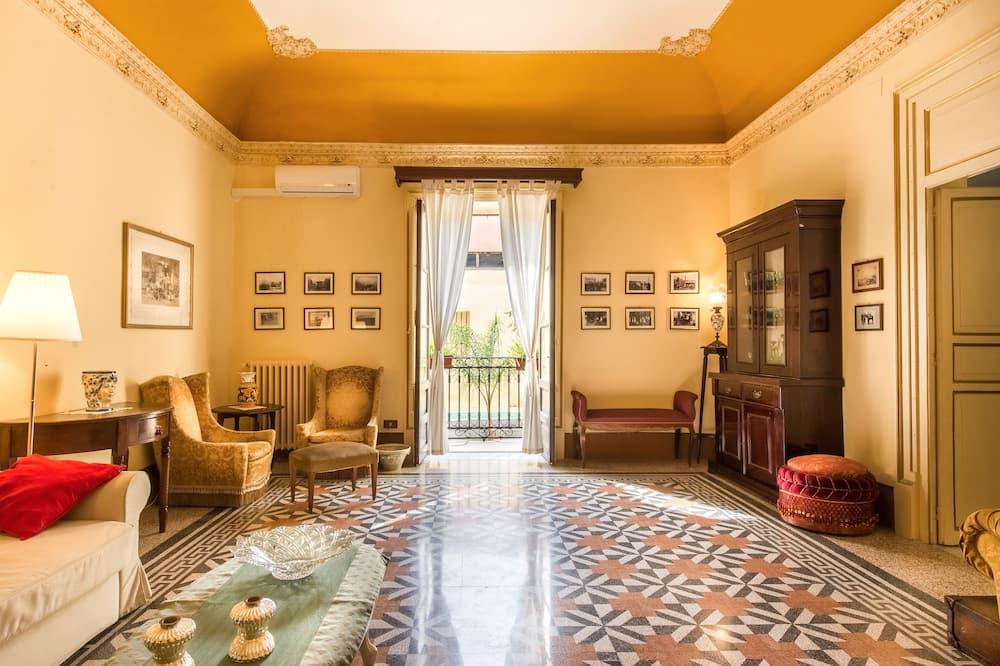 Vila, 3 spálne - Obývačka