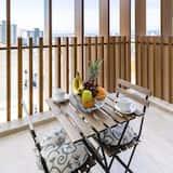 Luxusné štúdio, 1 dvojlôžko, balkón - Balkón
