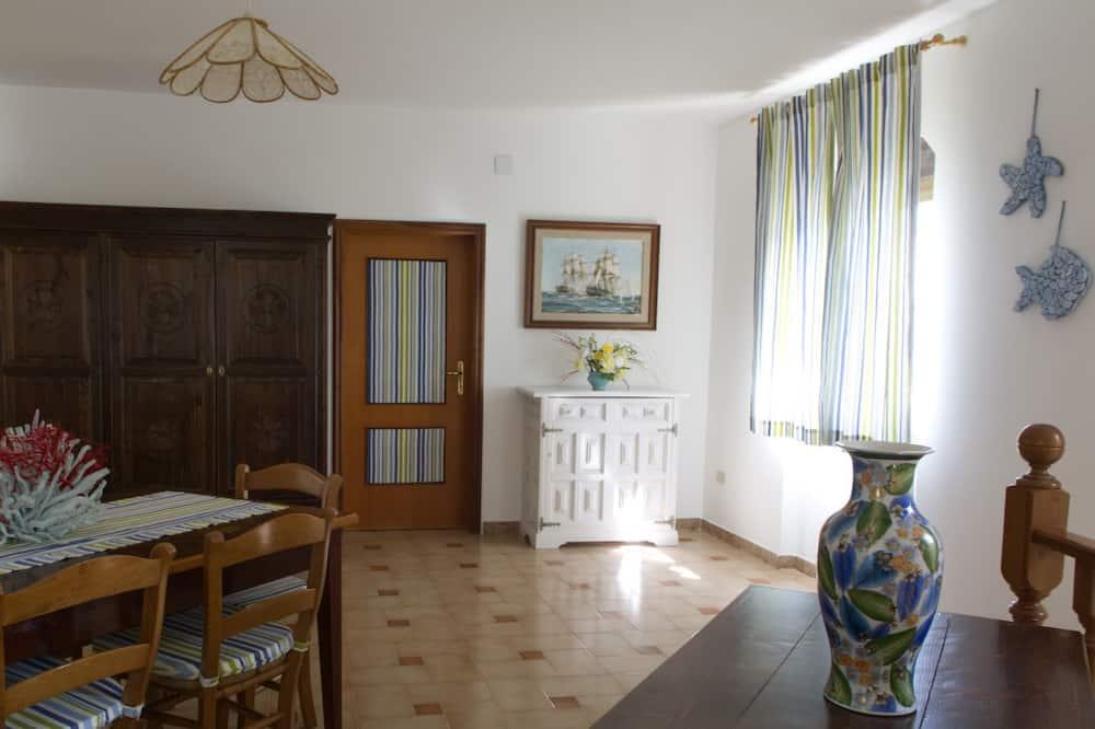 Chambre Quadruple (Ginepro) - Salle de séjour