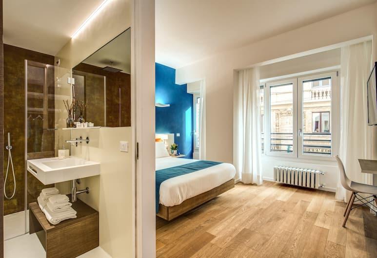 빅토르 부티크 호텔, 밀라노, 스탠다드 더블룸, 퀸사이즈침대 1개, 금연, 객실