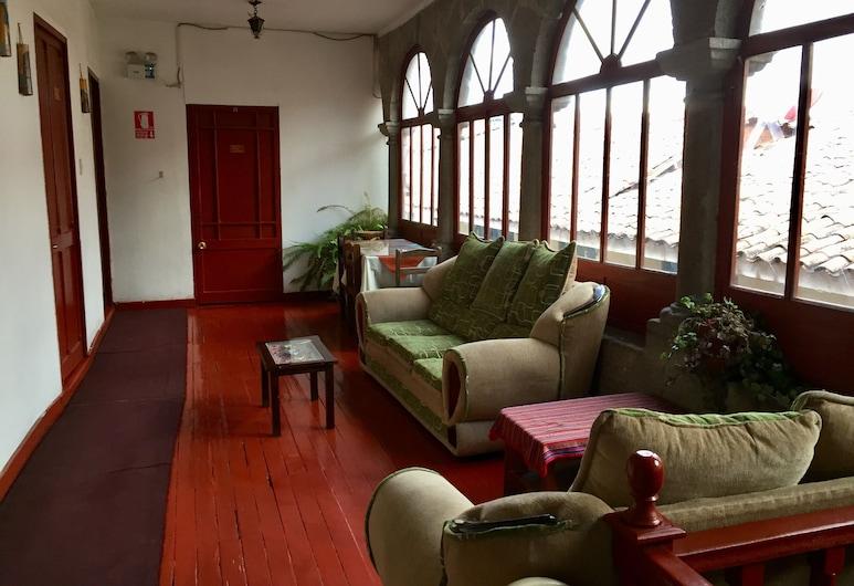 VIP House Hostel, Cusco, Sitzecke in der Lobby