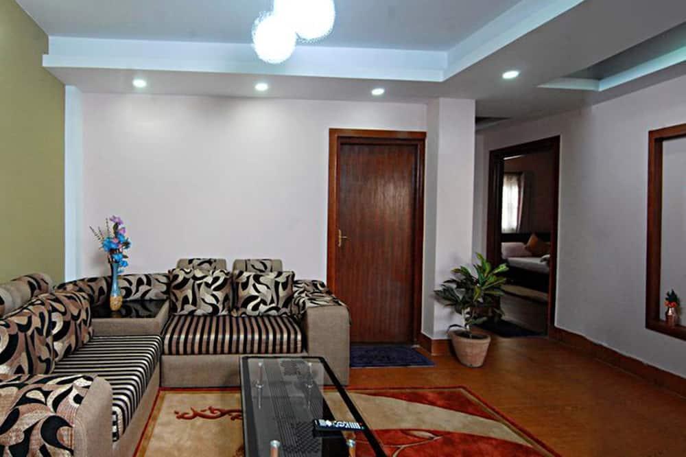 Izba typu Deluxe, nefajčiarska izba - Obývačka
