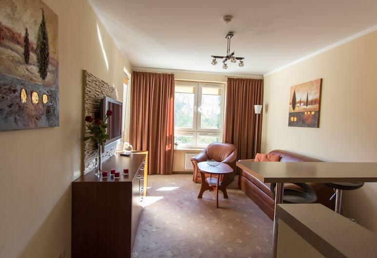 Apartamenty przy Kościuszki, Kolobrzeg, Grand-Apartment (341), Wohnbereich