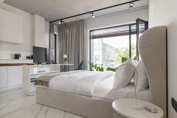 Poznan bölgesindeki Centro Design Apartaments resmi