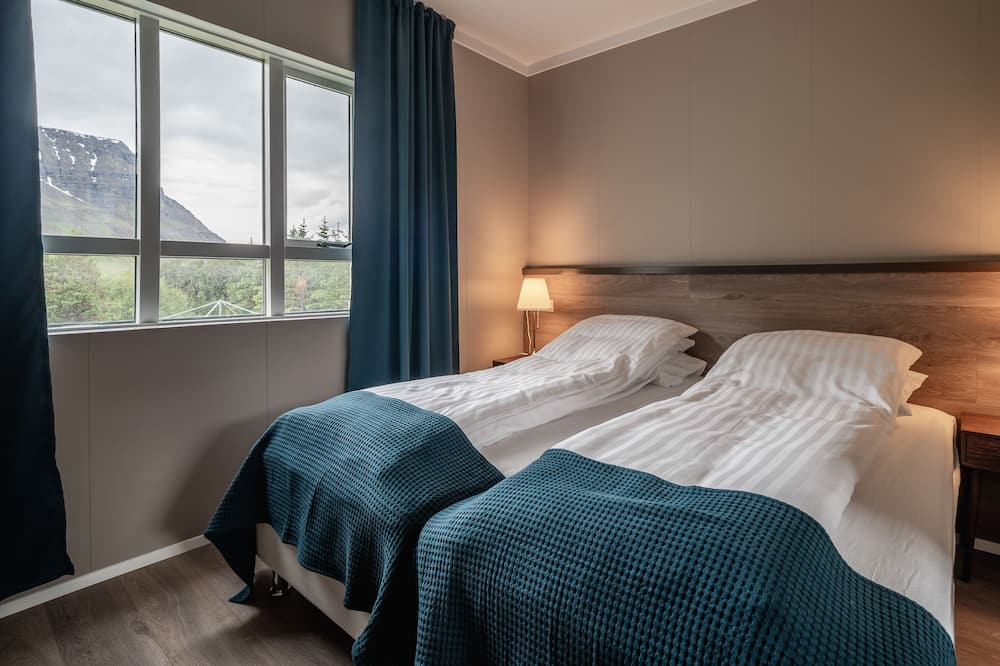 豪華雙人或雙床房, 私人浴室 - 園景