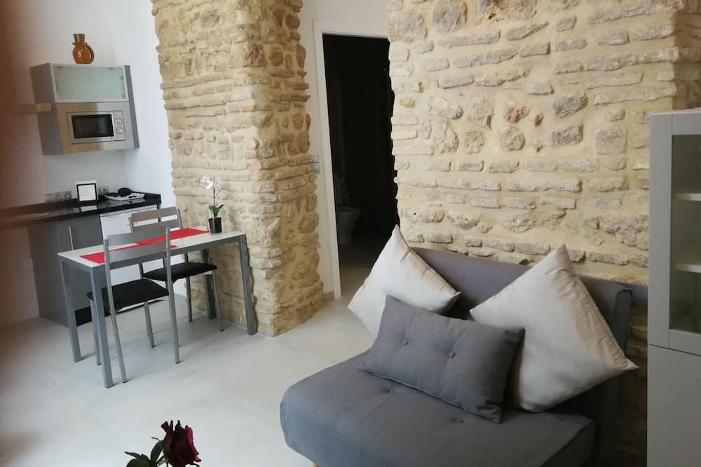 Comfort-Studio, barrierefrei - Wohnzimmer