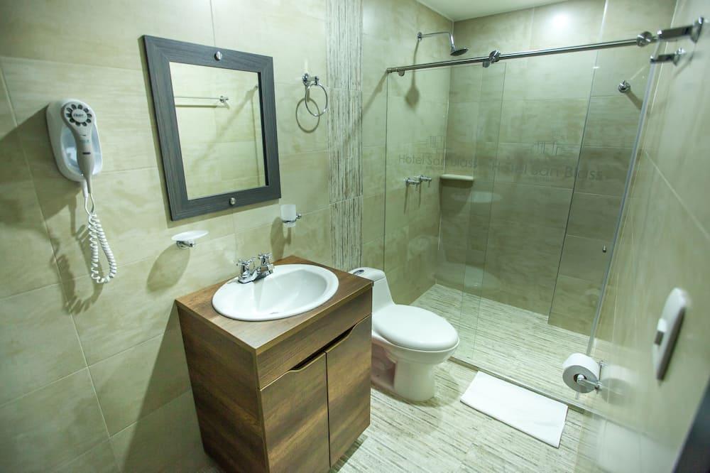 패밀리 더블룸 또는 트윈룸, 금연 - 욕실