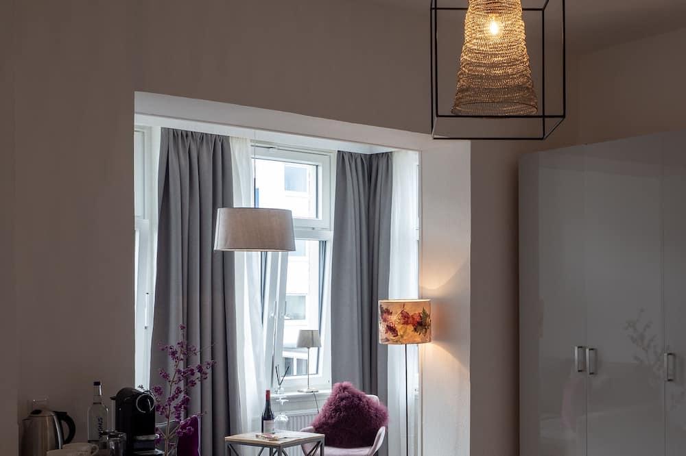 Deluxe dvokrevetna soba - Dnevni boravak
