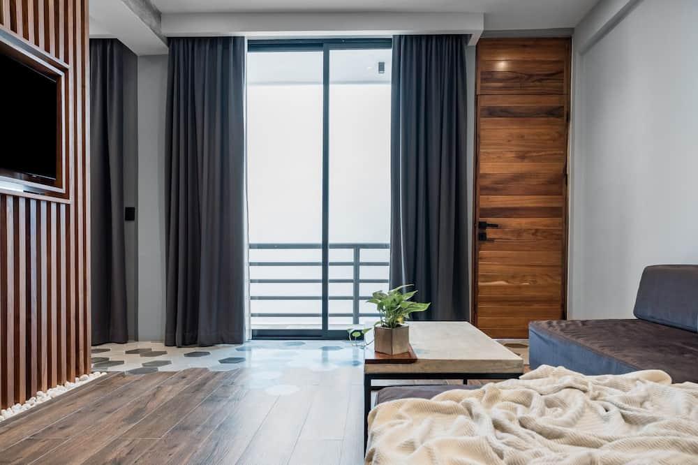 特色公寓, 陽台, 城市景觀 - 客廳