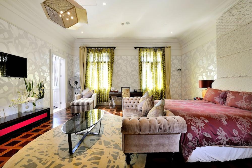 Premium Double Room - Living Area