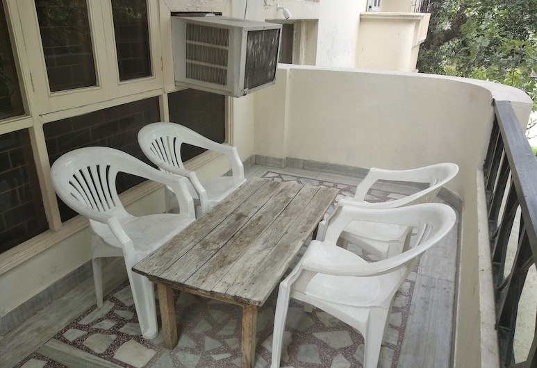 The Mystic Soul Hostel, Neu-Delhi, Deluxe-Doppelzimmer, Balkon
