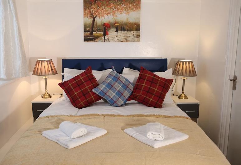 Isledon Hotel, London, Familienzimmer, 2Doppelbetten, mit Bad, Zimmer