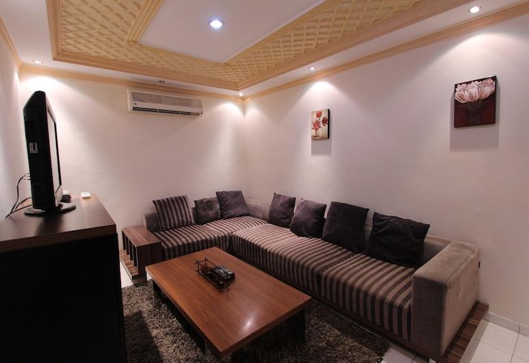 Zwarah Hotel Suites, Jeddah, Room, 1 Bedroom, Living Area