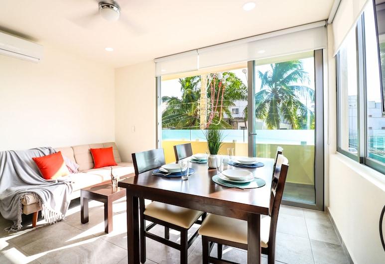 The Furlough Fur201, Playa del Carmen, Apartment, Living Area