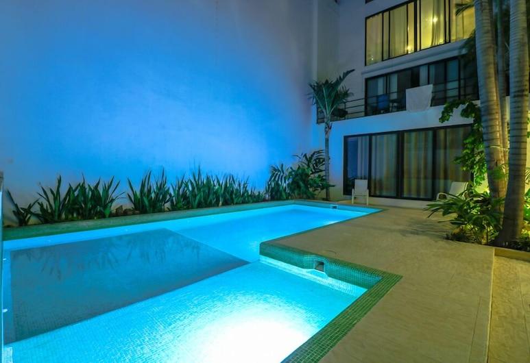 Apartment Habita 202, Playa del Carmen, Piscine en plein air