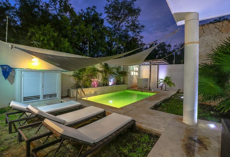 Villa Nautilus, Tulum, Βίλα, Αίθριο/βεράντα