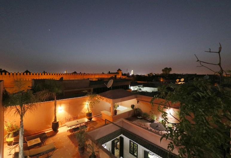 觀景點庭院飯店, Marrakech, 露台