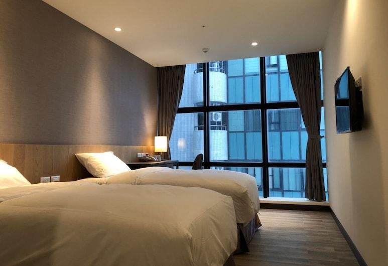 福昇商旅, 桃園市, 都會雙床房, 2 張單人床, 非吸煙房, 客房