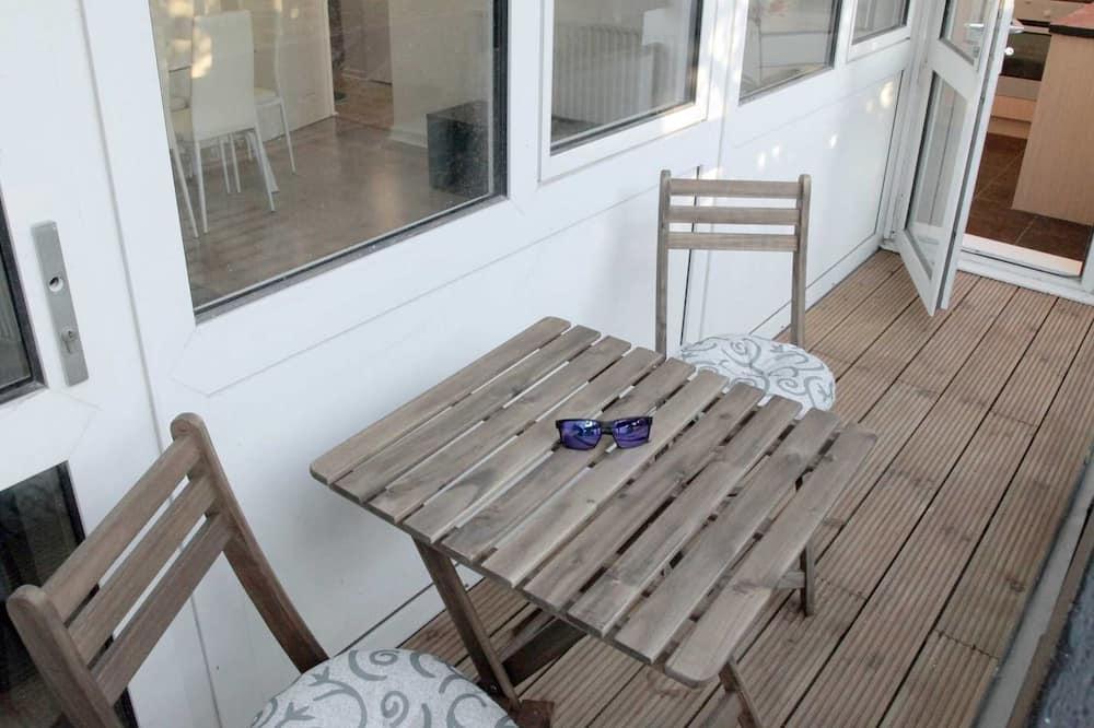 都會公寓, 2 間臥室, 非吸煙房 - 露台