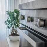 Романтичний номер, 1 спальня, для некурців, суміжна ванна кімната - Спільна кухня